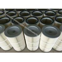 Buy cheap Self - Cleaning Pleated Filter Cartridge , Air Filter Cartridge In Industrial Filtration from Wholesalers