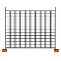 China Galvanized Construction Site Australian Temporary Fencing Panels Low Carbon Steel Q235 on sale
