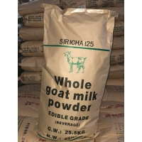 China Drinking All Ages Fat Filled Raw Goat Milk Powder 25kg/Bag factory