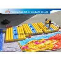 China High Tensile Strength Inflatable Sports Games , Blow Up Battle Mat Air Combat factory