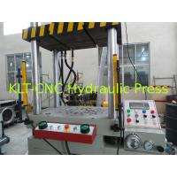 Buy cheap 400T Series Four-Column Hydraulic Deep Drawing Press For Straightening / Plastics Moulding from Wholesalers