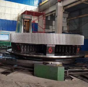 China Forging Steel Large Dia 16000mm Rotary Kiln Girth Gear for cement plant factory