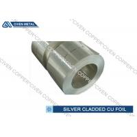 Buy cheap Cu & Ag | Silver on copper Foil Sheets For HF and Decorating Usage from Wholesalers