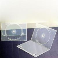 Buy cheap 14mm Milky Clear PP DVD Case, Suitable for Single or Double Discs, Available in Various Colors from Wholesalers