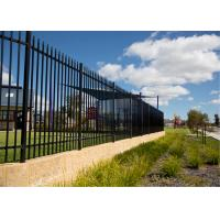 Buy cheap Security Fencing Spear Top - 1800 x 2400 Black Panel from Wholesalers