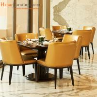 Buy cheap Contemporary Upholstered Hotel Breakfast Room Furniture with Table and Chair from wholesalers