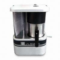 China Aluminum 6 Cups Coffee Maker with 24V Voltage and 300W Power, CE Certified factory