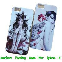 Buy cheap Apple Iphone 5 5G 5th Women Painted Hard Back Case Cover -Paypal Accepted from wholesalers