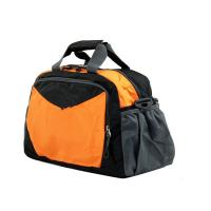 Outdoor Durable folding Travel Duffel Bags Fashionable , Orange / Purple / Red / Blue