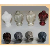China curtain rod finial on sale