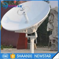 Buy cheap 1.8m ring focus vsat RxTx small earth station satellite communication dish antenna from Wholesalers