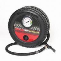 China 260psi Tire Sharp Compressor with Unwrapped Inflator Hose, CE Approved factory