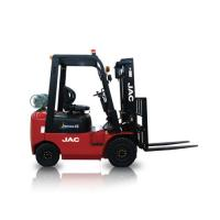 China JAC Gasoline Forklift Truck 1.5 Ton Lifting Capacity 3m - 6m Lift Height factory