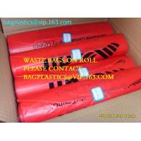 China SEQUENTIAL NUMBERING bags, can liners, drum liner, Gaylord liners, Green Bags, Header Bags factory