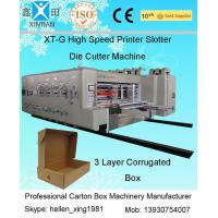 China Fully Automatic Carton Making Machine With 7.2mm Thickness Of Printing Plate factory
