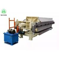Buy cheap Solid-liquid separation automatic filter press for sale from Wholesalers