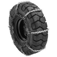 China Square Link Style Forklift Tire Chains With Stainless Steel Material on sale