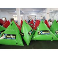 China 1.5m Airtight Triathlon Inflatable Triangle Buoy With D Rings Customized Size factory