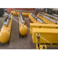 Buy cheap Yellow Cast Steel Air Reservoir For Industrial Dust Collector Bag Filter Housing from Wholesalers
