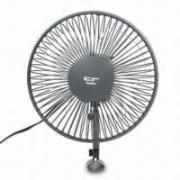 China Car Fan with 12V DC Power Supply and 6 Inches Blade Diameter factory