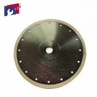 China Angle Grinder 5 Inch Diamond Blade Wet Saw 65Mn / 30Crmo Body Material on sale