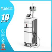 China Cryolipolysis 2 heads working together body slimiing criolipolysis weight lose machine on sale