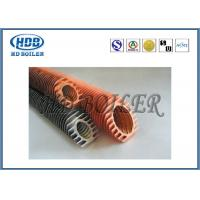 Buy cheap Steel Extruded Spiral Fin Tube Economizer For Heat Transfer / Air Cooler from Wholesalers