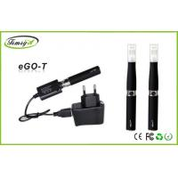 Buy cheap CE ISO Black Ego 510 Thread E Cigs Black , Ce4 Clearomizer 650mAh 14mm Dia from Wholesalers