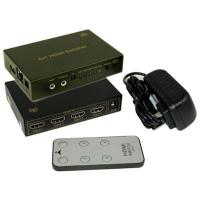 China 4 Port HDMI Switch (4 inputs/1 output) w/ARC/HEC/IR & Remote, Booster on sale