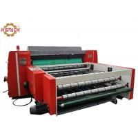 China KS Model Corrugated Box Rotary Die Cutter , Carton Waste Stripping Machine factory