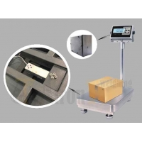 China Steel Bench Scale with LCD Display Stainless Steel Indicator, Animal Weighing Scale factory