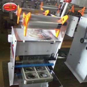 China Hot Sale Manual Plastic Cup Lid Sealing Machine For PP Cups Manual Cup Sealing Machine factory
