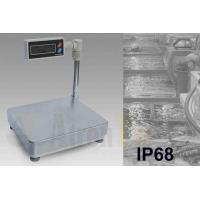 China Mini Portable Platform Scale With Capacity 3kg - 60kg Low Voltage Alarm Function factory
