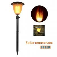 Buy cheap Solar Lights Dancing Flickering Flames Outdoor Solar Path Torches Lights 99 LEDs Lantern Solar Garden Lights from Wholesalers