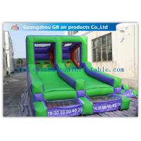China Double Channel Inflatable Sports Games Ball Goal Court With CE Approved Blower factory
