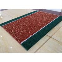 China Impact Resistant Recycled Rubber Crumb Multicolors Anti - Slip Jogging Flooring factory