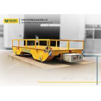 Buy cheap Battery Powered Transfer Cart for Dies Transport Carriages on Rail Transfer Cart from Wholesalers