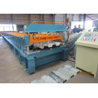 Buy cheap Metal Floor Decking Panel Corrugated Roll Forming Machine Thickness 0.8-1.2mm from Wholesalers