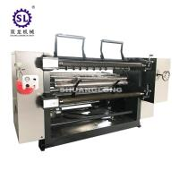 China PVC and PET Window Film Slitterwith Automatic Tension , Paper Slitting Machine factory