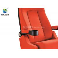 China Cup Holder Sponge Cinema Theater Chair factory