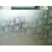 China Frosted 9mm 7mm Acid Etched Glass Ultra Clear For Office Partitions factory