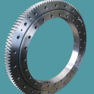 China Three Row Pole Industrial Turntable Bearings , Komatsu PC650 Ball Bearing Slewing Ring factory