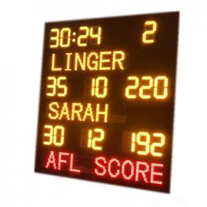 China DIP Custom Aussie Rules Afl Football Scoreboard 2100MM X 2300MM X 100MM factory