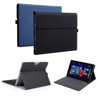 China Microsoft Surface Pro 4 Case, PU Leather Folio Protective Stand Cover for Surface Pro 2017/Pro 4 with Pen Holder factory
