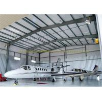 Buy cheap Large Span Structurel Steel Airplane Hangars With Frame Use Life 50 Years from Wholesalers