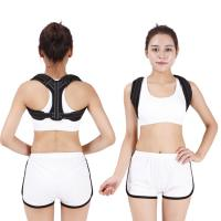 China Pain Relief Back Posture Corrector With Armpit Pad Extension Strap factory