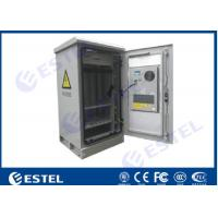 Buy cheap Galvanized Steel Outdoor Telecom Cabinet IP55 Air Conditioner Fans Cooling from wholesalers