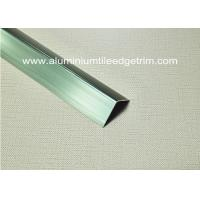 Buy cheap Good Anodized Champagne Aluminium Angle Trim 20mm x 20mm x 2.5m from Wholesalers