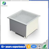 Quality Cleanliness class 100 surgery room Hepa box, ceilling air purification housing wholesale