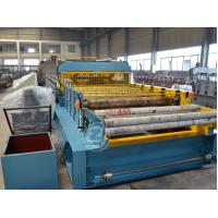 Buy cheap Customized Moving Adjustable Line Cold Roll Forming Machine With Mitsubishi PLC from Wholesalers